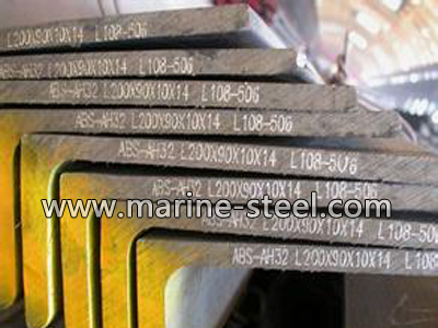 Hot rolled L shaped steel bar